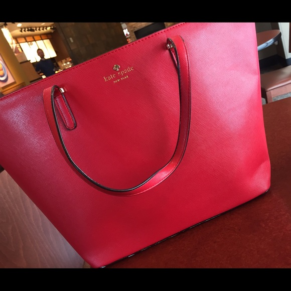 prada brown tote - 65% off kate spade Handbags - Kate spade harmony tote (Red) from ...