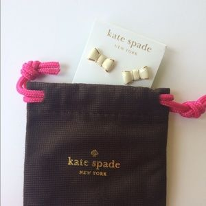 😃TODAY SALE😃 Kate spade New Authentic White Bow