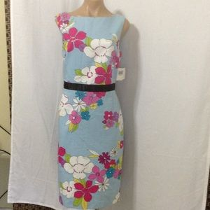 Cynthia howie Dresses & Skirts - Cynthia Bowie floral cotton NWT $130.00 dress