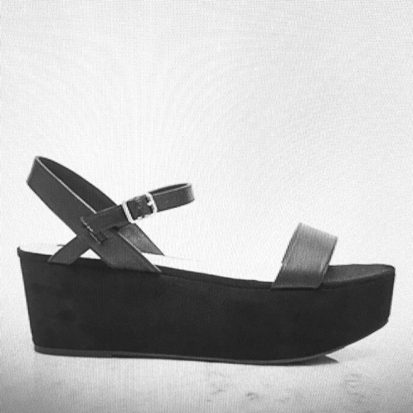 Faux Suede Platform Sandals Forever 2