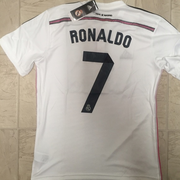 the best attitude 4e4e5 24ab2 2014/2015 Ronaldo Real Madrid home jersey NWT