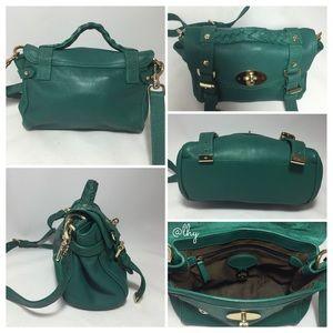1278213897 ... clearance mulberry bags mulberry mini alexa emerald lizard trim 4f81f  2e5fb