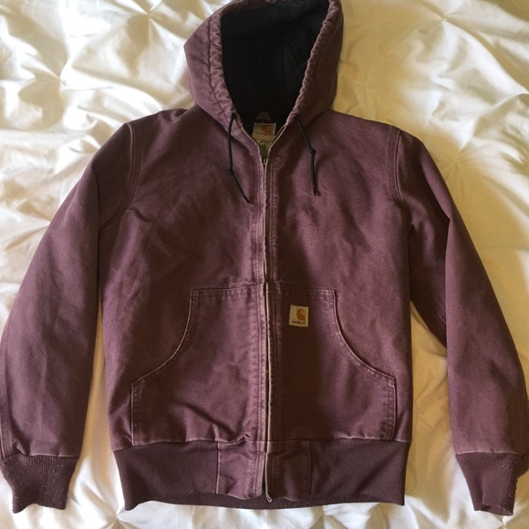 c4d156ce4f Carhartt Jackets & Blazers - Purple Carhartt Jacket