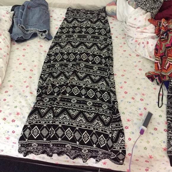 65 dresses skirts aztec print maxi skirt from