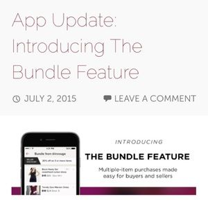 Other - New Bundle Feature!!!
