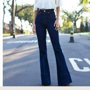 James' vibe flare jeans