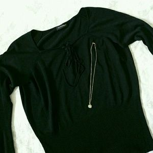 Tops - Black Sweater