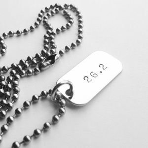 Runner's Marathon Necklace