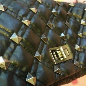 Nila Anthony Accessories - Sexy black handbag / clutch