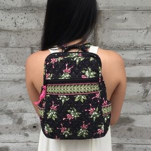 {vera bradley} quilted backpack