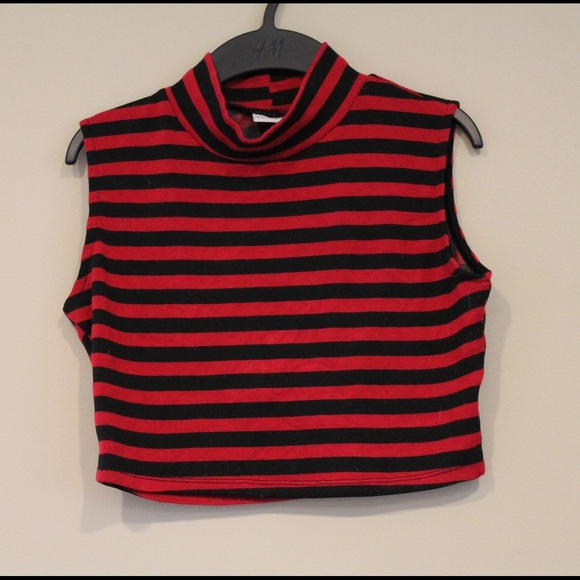 Red and Black Tops