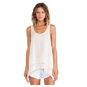 Free People Tops - NW Outlined high low cami