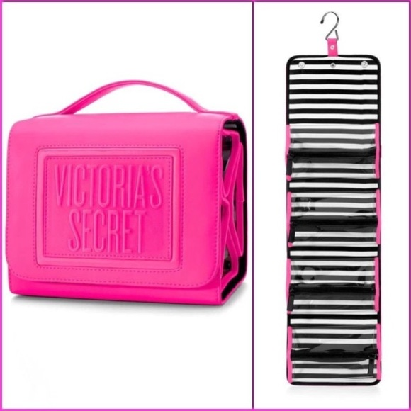 684cdd4b543 VS Folding & Hanging cosmetic case makeup bag. M_5595b96cbf441c0776005352.  Other Bags you may like. signature stripe Victoria's Secret accessories bag
