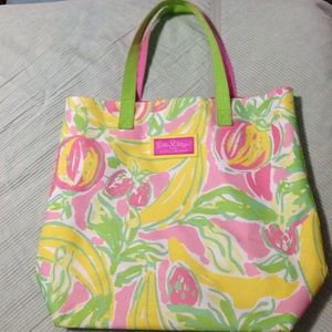 Lilly Pulitzer for Esteē Lauder Beach Bag