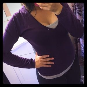 John Smedley Sweaters - Purple blouse sweater