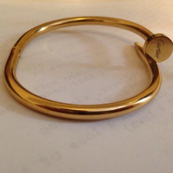 8aec064a Cartier Jewelry | New Gold Nail Bracelet | Poshmark
