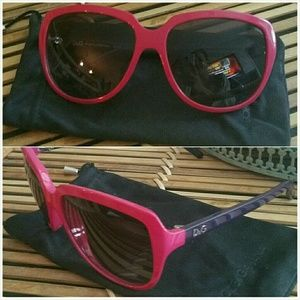 Authentic Dolce & Gabbana Pink Sunnies Sunglasses