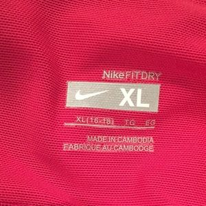 Nike Tops - Nike Fit Dry razor back athletic top in pinks