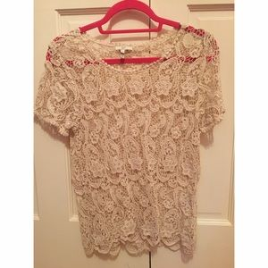 new condition lace shirt