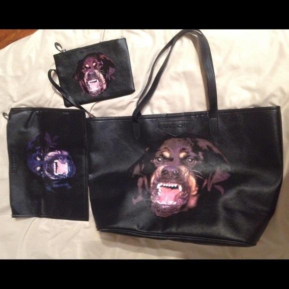 d45e8e97daa0 Givenchy Handbags - Givenchy Rottweiler bag