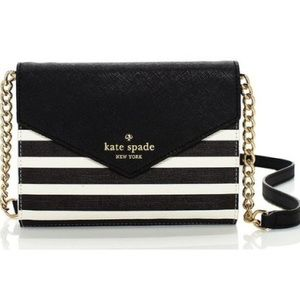 Kate Spade Fairmount Square Striped Crossbody Bag