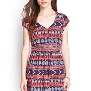 Host Pick! Forever 21® Aztec Design Dress