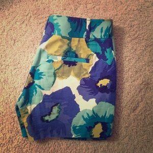 Loft 00 floral shorts