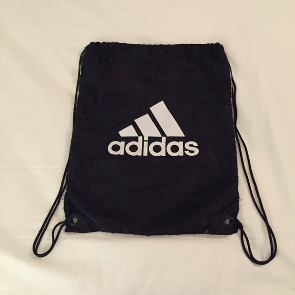 60% off Adidas Accessories - Double-sided Adidas drawstring ...
