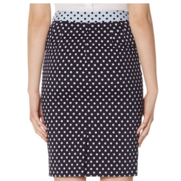 71 the limited dresses skirts nwt navy blue polka