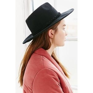 Wool Hat with Braided Detail