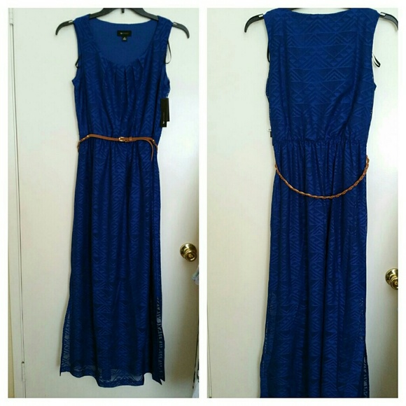 Off Ab Studio Dresses Skirts Ab Studio Lace Maxi Dress