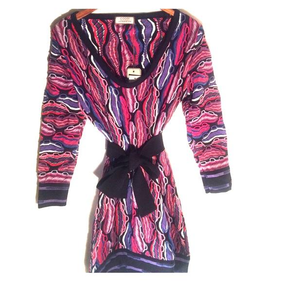 COOGI SWEATER DRESS NWT