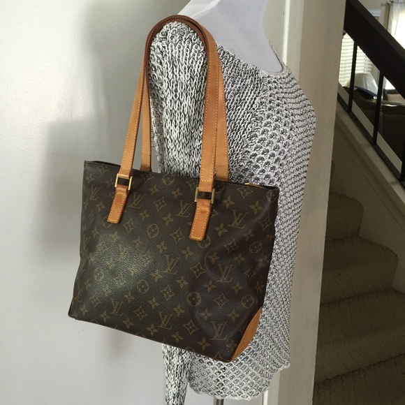 Louis Vuitton Handbags - Louis Vuitton cabas piano monogram shoulder tote 6ec9c243d