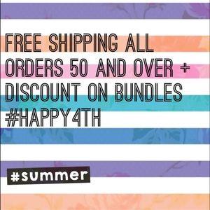 free shipping + discounts!!