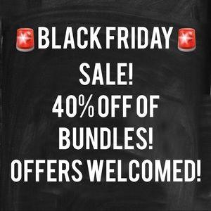 Black Friday deal! 40% off!!
