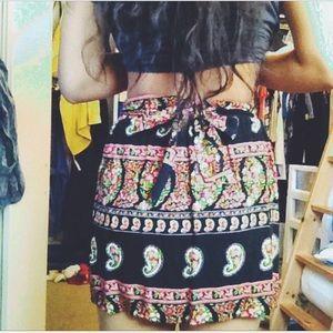 Forever 21 Printed Skirt