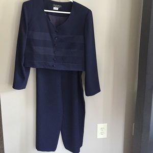 Cynthia Howie Other - Navy Blue Summer Pantsuit