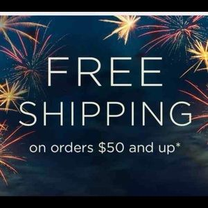 FREE Shipping on $50+ orders