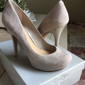 Jessica Simpson Shoes - Jessica Simpson Suede Pumps