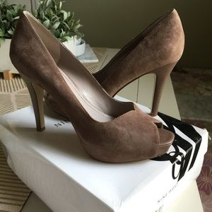 Nine West Shoes - Nine West Peep Toe Pumps