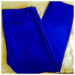 J. Crew Royal Blue City Fit Chinos