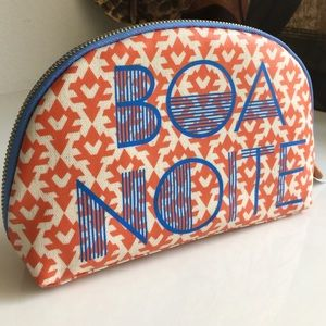 🍁SALE J.crew Accessory - make up 'BOA NOITE' bag