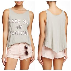 NWT WILDFOX Take Me On Vacation Cassidy Tank Sz M