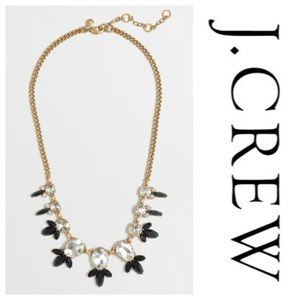 J. Crew Crystal Drops Statement Necklace