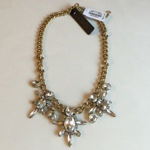 J.crew Crystal Firework Necklace