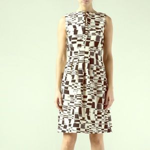 Striking Black and White Lela Rose Dress