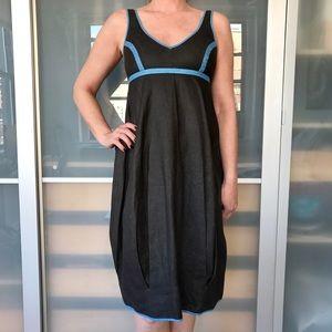 Zero + Maria Cornejo Dresses & Skirts - Zero + Maria Cornejo linen/cotton bicolor dress
