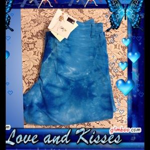 Antthony Denim - Antthony tie dye stretch denim jeans reduced Firm