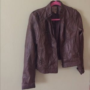 Leather Jacket (faux leather)