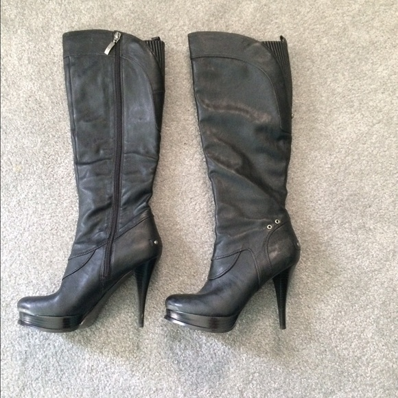 a4fa1f6225 Guess Shoes   High Heel Boots   Poshmark